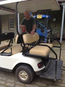 Ian with buggy