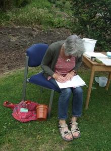#gardenpoet at work
