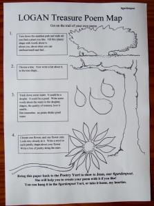 Treasure Poem Map sheet mr
